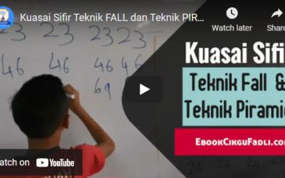 Kuasai Sifir Teknik FALL dan Teknik PIRAMID – Cikgu Fadli