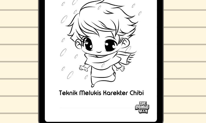 teknik-melukis-karakter-chibi