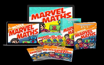 Marvel Maths Menjadikan Matematik Itu Mudah