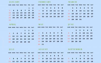 Kalendar 2021 MFS Empire