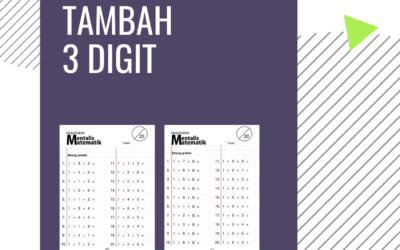 Latihan Tambah 3 Digit – Cikgu Mohamad hakim