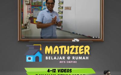 Mathzier umpama tuisyen bulanan melalui rakaman video oleh Cikgu Mohd Fadli Salleh