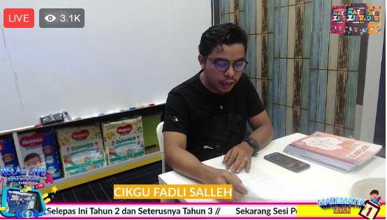 Siri 4 – Tahun 1, 2 dan 3 Matematik Percuma LIVE Terbesar di Malaysia 16 Feb 2021