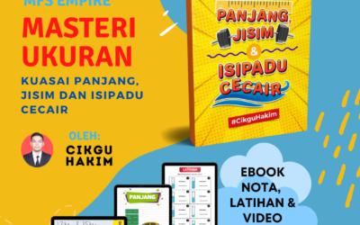 Ebook Masteri Ukuran Oleh Cikgu Mohamad Hakim