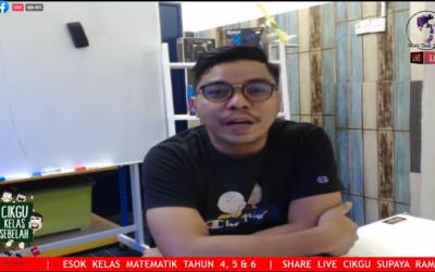 SIRI 9 Tahun 4,5 dan 6 Rakaman Kelas Live Matematik Percuma Cikgu Mohd Fadli Salleh