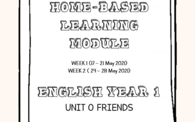 PdPR Module For 2 Weeks – English Year 1 – Unit 0: Friends.