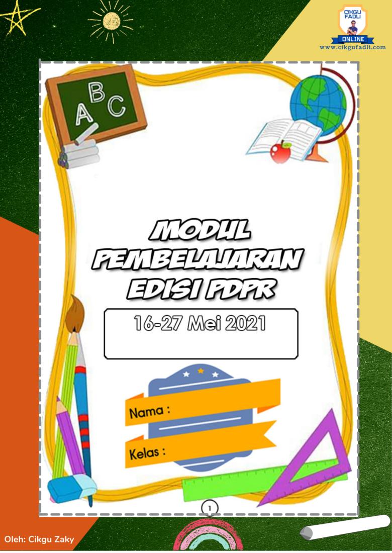 modul-pdpr-prasekolah-1