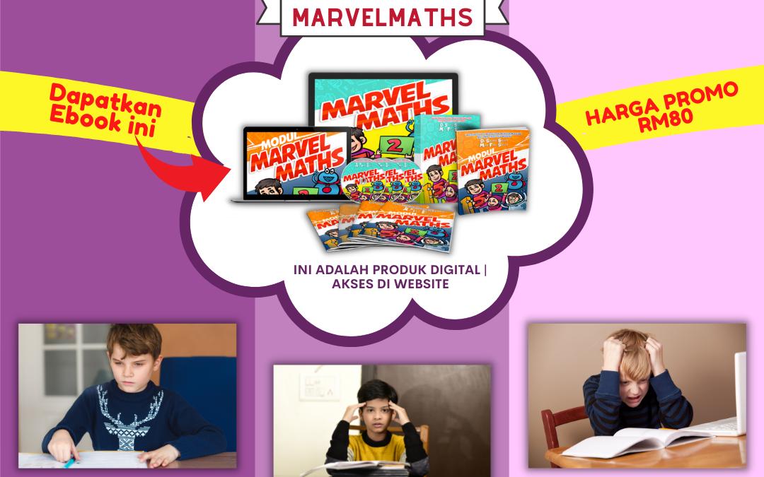 Anak tidak minat Matematik dan anggap Matematik itu susah?
