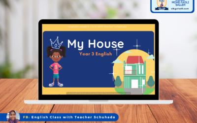 Year 3 English –  My House