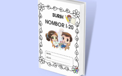Latihan Surih Nombor 1-20 untuk Prasekolah / Tadika oleh Cikgu Azlienda