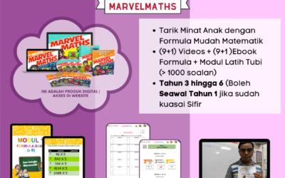 Bantu anak anda minat dengan subjek matematik dengan Marvel Maths
