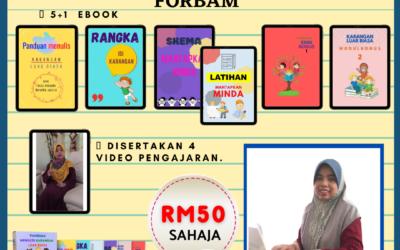 Ebook Forbam ini dihasilkan untuk memastikan pelajar didedahkan dengan pelbagai teknik membina karangan cemerlang.