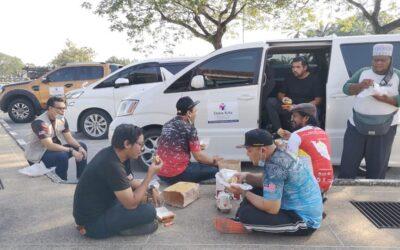 Kami pulang dulu orang Kedah noh