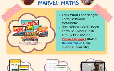 Marvel Maths ini adalah satu usaha gabungan Cikgu Mohd Fadli Salleh dan Dr Salbiah Salleh