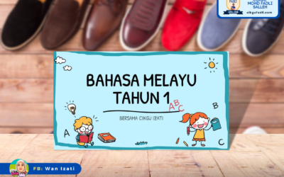 Bahasa Melayu Tahun 1 Tema 3: Unit 6 Kemahiran Menulis – Panduan Membeli Kasut
