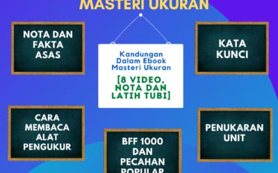 Apakah Yang Terdapat dalam Masteri Ukuran