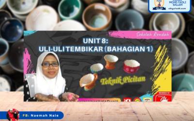 Pendidikan Seni Visual Tahun 2 Unit 8: Uli-Uli Tembikar