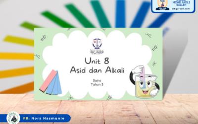 Sains Tahun 3 Unit 8 : Asid dan Alkali