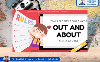 Year 3 English Get Smart Plus 3 Unit 7 : Out and About  – Our World