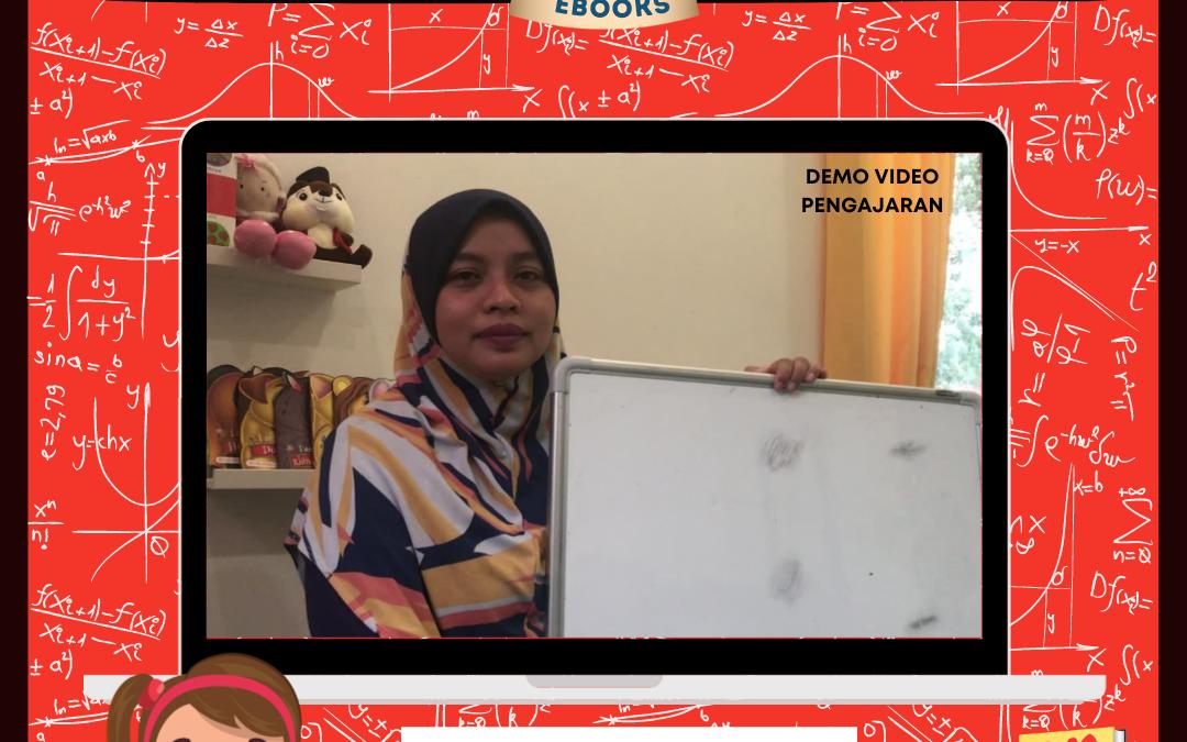 Ini salah satu dari 5 video pengajaran dari Dr Salbiah Salleh yang ada dalam Ebook Otak Kalkulator.