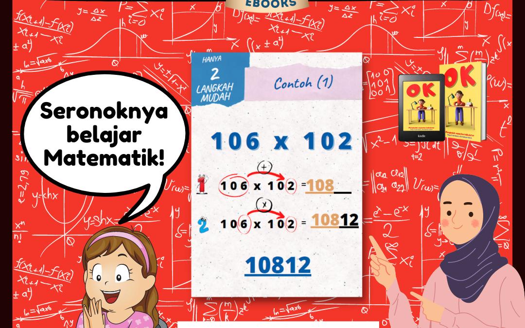 Konsep Ebook Otak kalkulator, adalah bermain dengan nombor