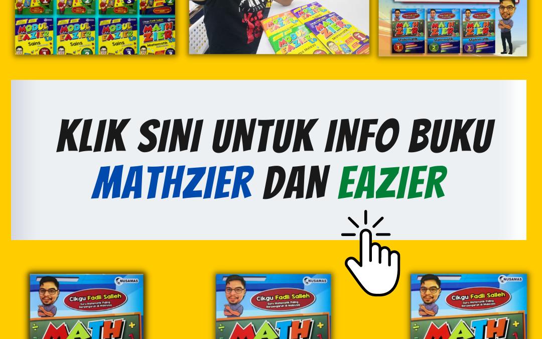 Tips Untuk Anak Kuasai Subjek Matematik.