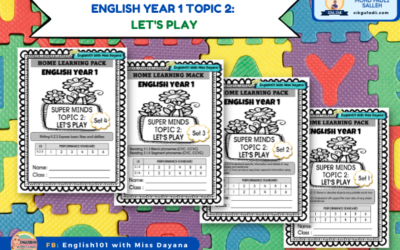 English Year 1 Topic 2: Let's Play.