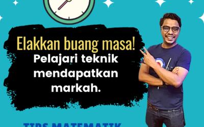 Tips Matematik MFS: Elakkan buang masa! Pelajari teknik mendapatkan markah.